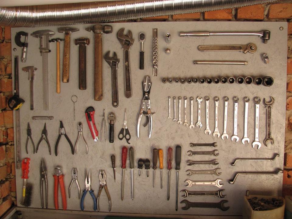 Стенд для инструментов