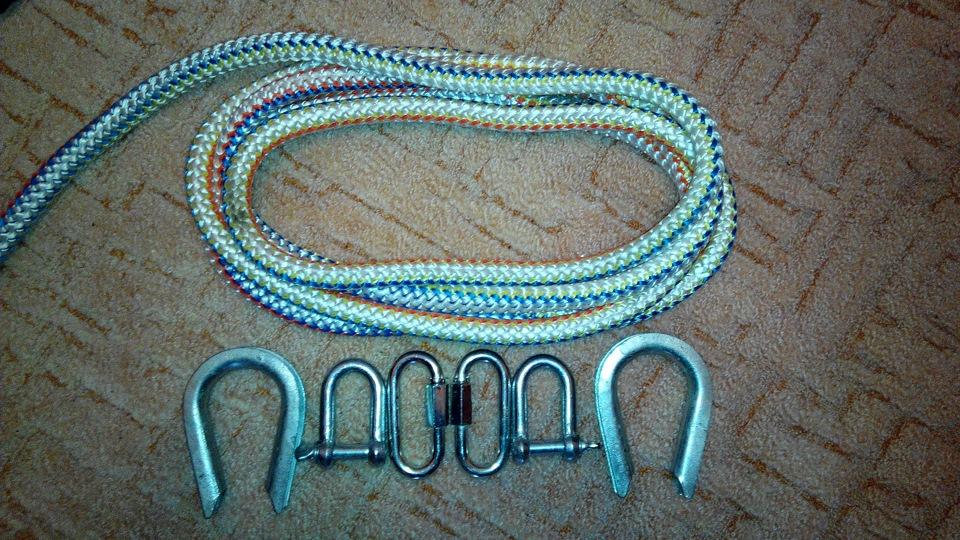 Буксировочный трос из веревки своими руками 11