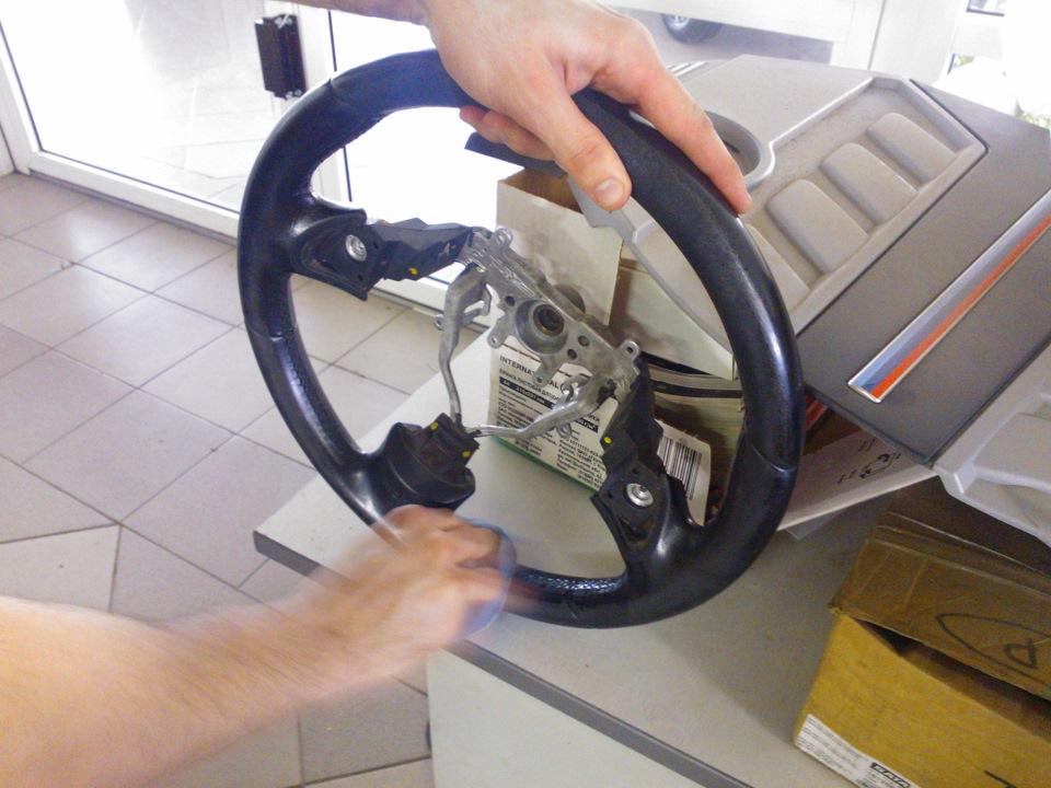 Как восстановить руль своими руками 55