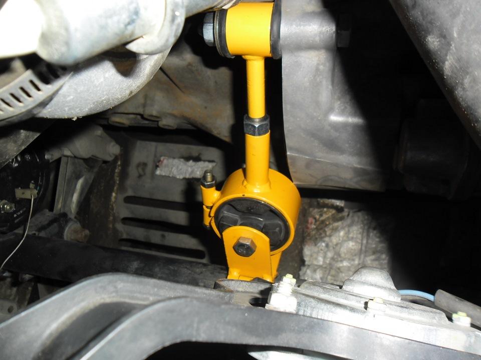 Восстановление опоры двигателя своими руками
