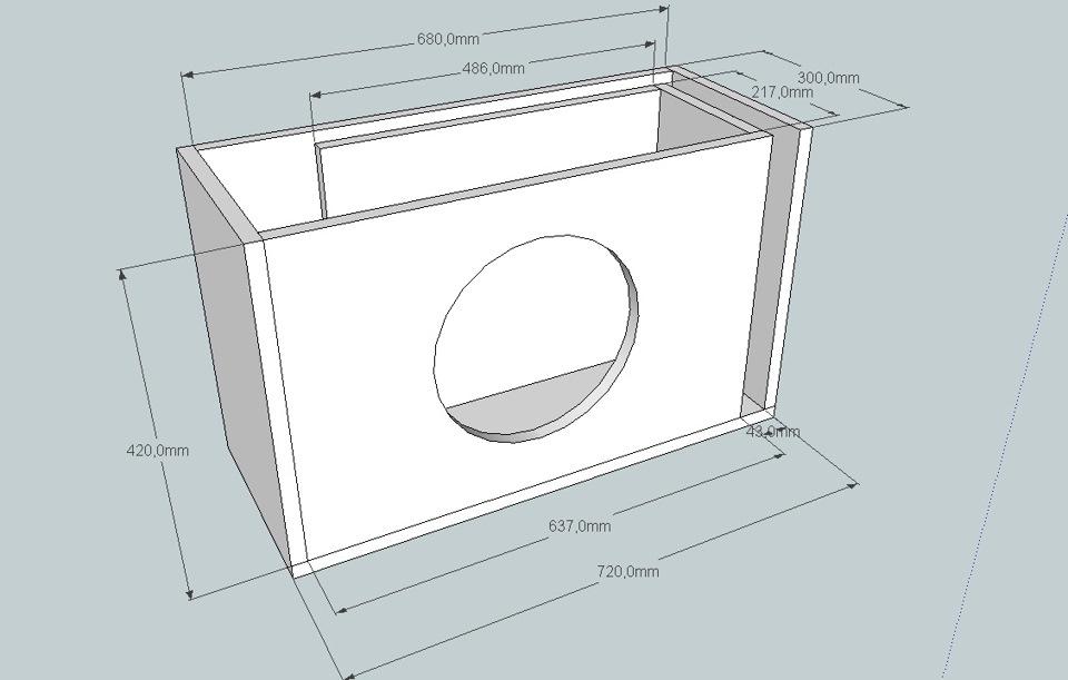 Как сделать своими руками ящик для сабвуфера