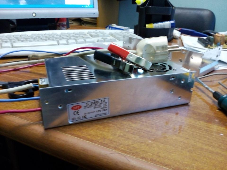Блок для светодиодной ленты 12 вольт своими руками