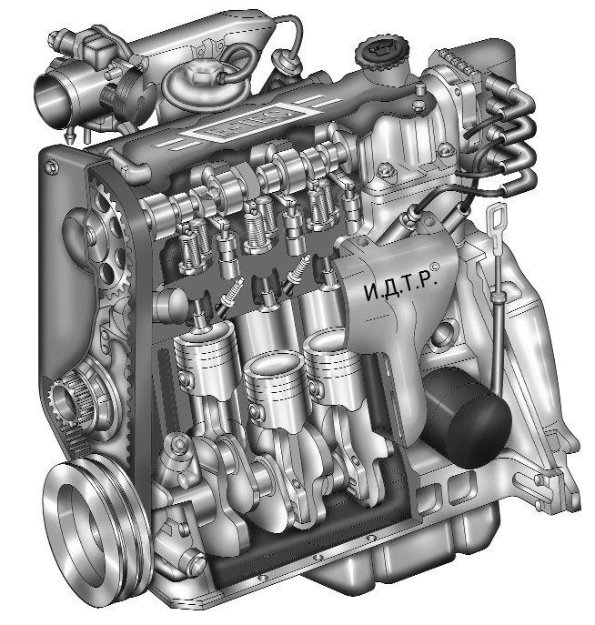 было происхождение, ланос устройство двигателя в картинках есть