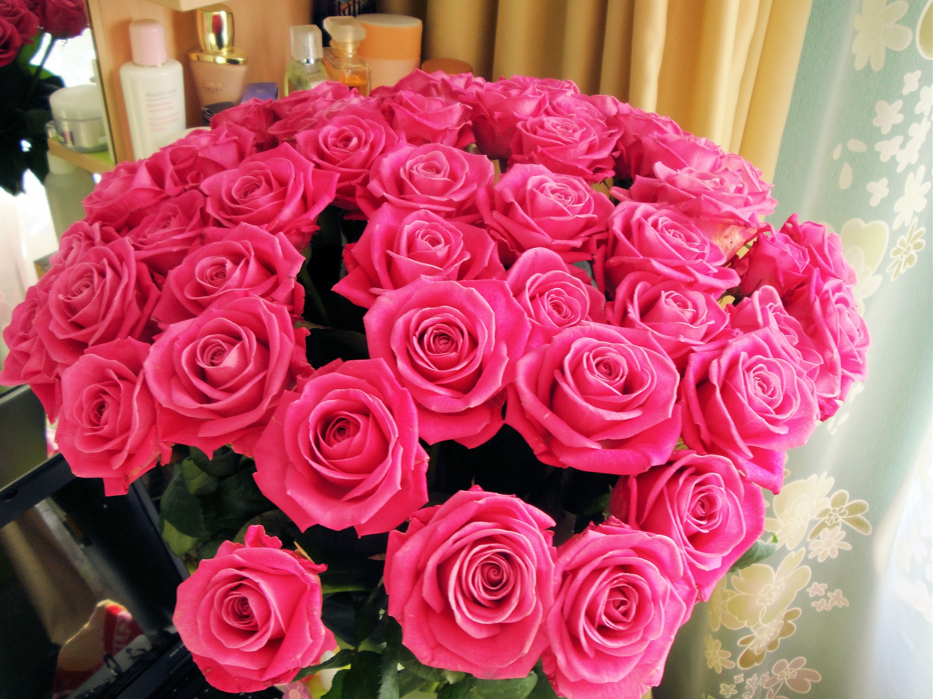 Картинки подаренных букетов роз