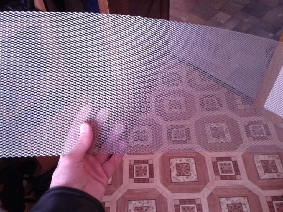Сетка на решетку радиатора своими руками поло седан