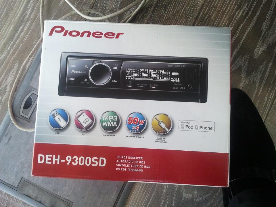 Инструкция Pioneer Deh-9300sd - фото 9
