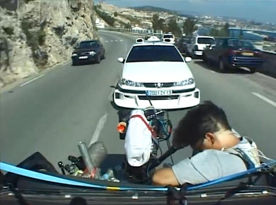 Видео снятое в авто этом