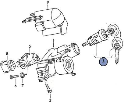 замена контактной группы фольксваген транспортер