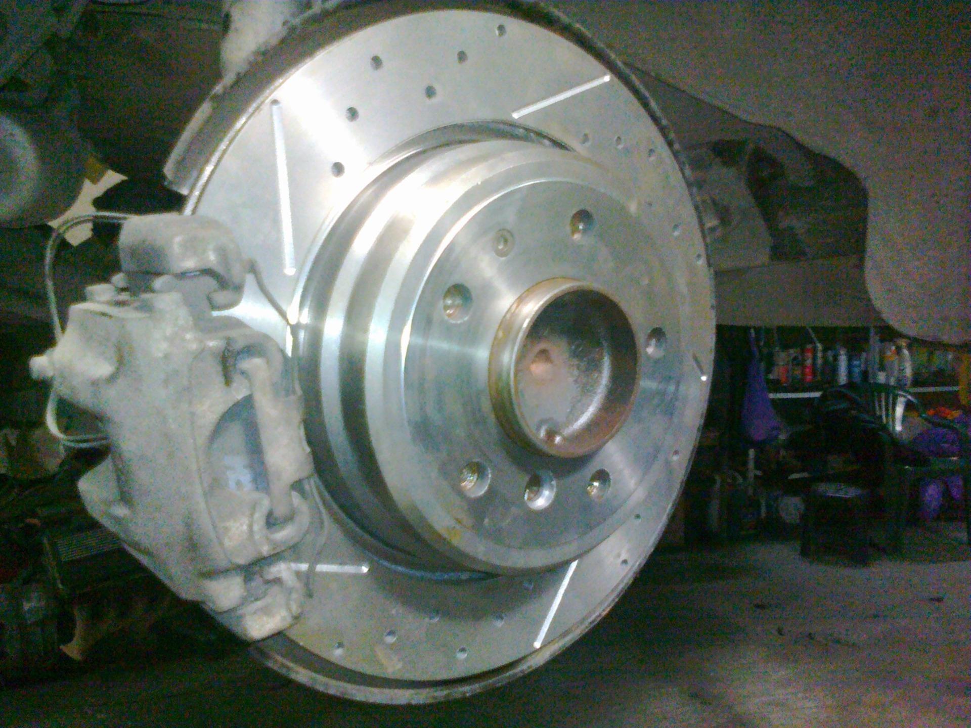 тормозные диски на bmw e36