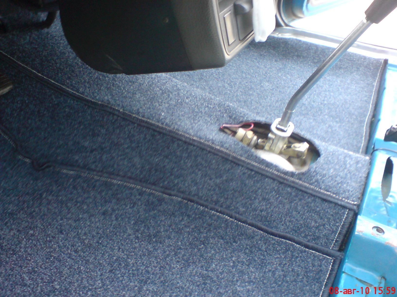 Замена ковролина в авто своими руками 62