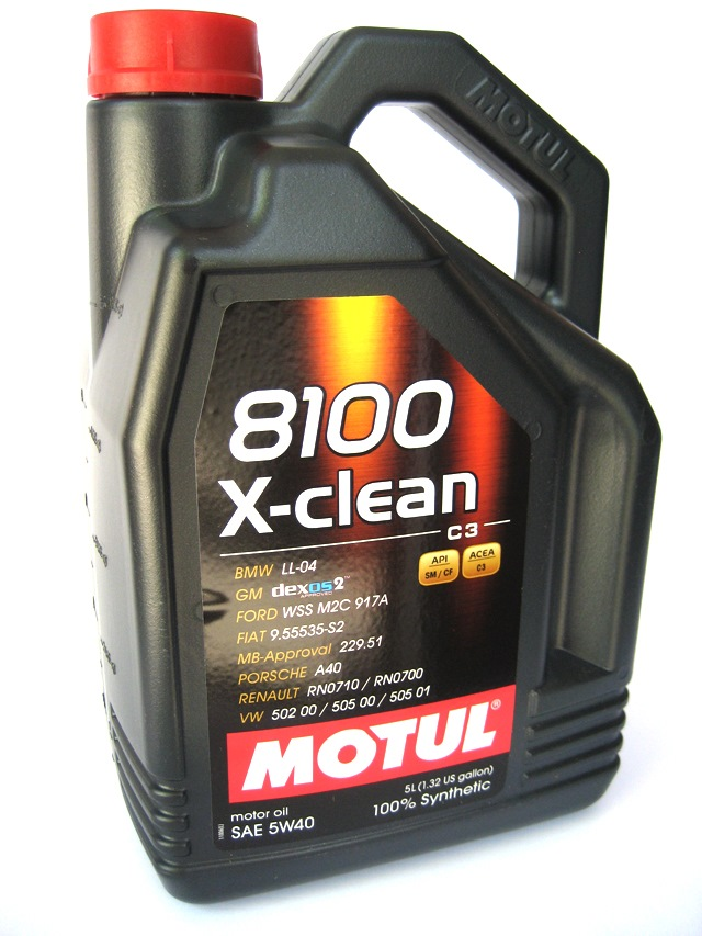 Моторное масло MOTUL 8100 X-Clean 5w-40 4 л - фото 4