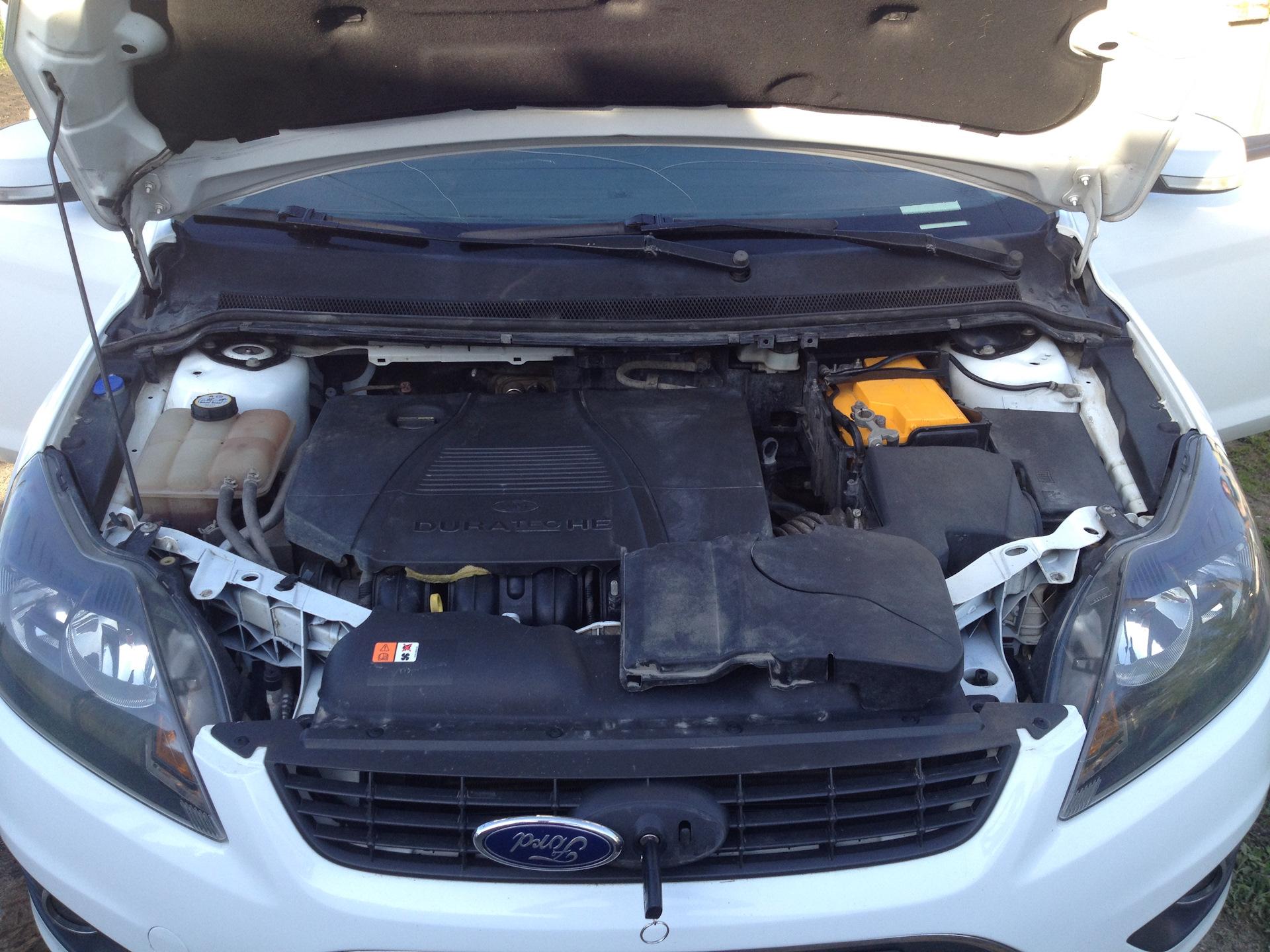 помыл двигатель загорелся чек ford focus 2