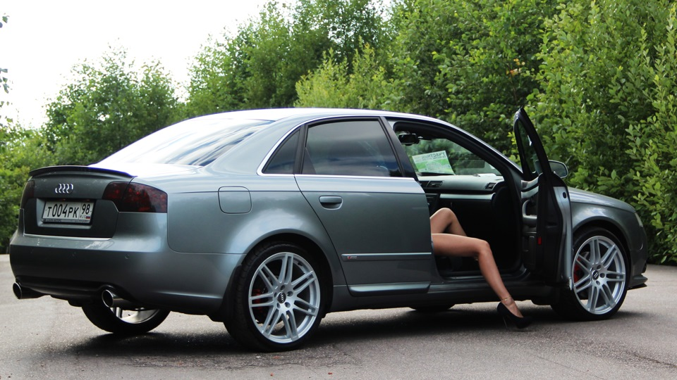 Audi a4 turborings drive2 for Mueble 2 din audi a4 b7