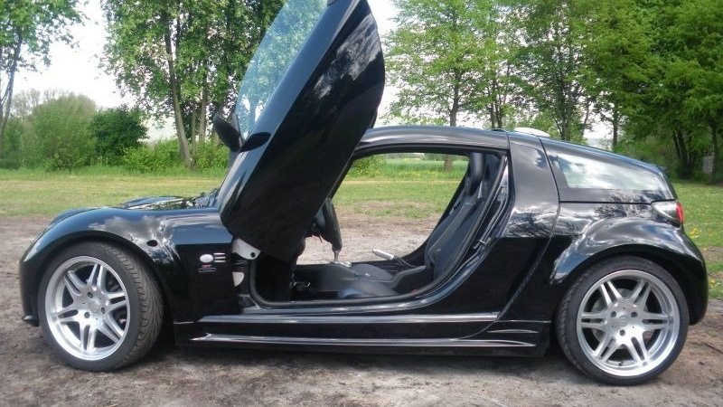 Smart roadster coupe brabus drive2 - Smart brabus roadster coupe ...