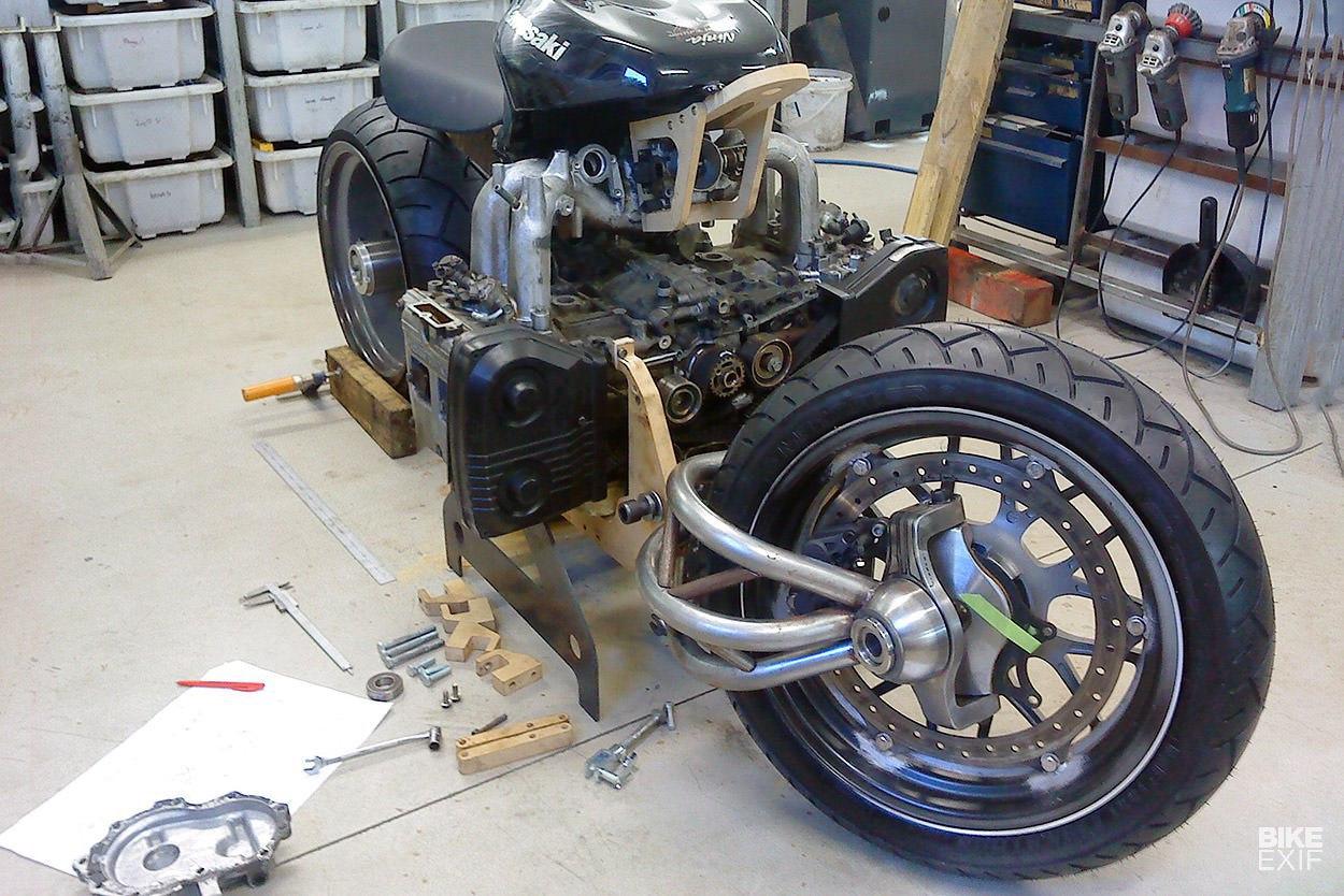 мотоцикл с двигателем от субару фото нужную дату соберется