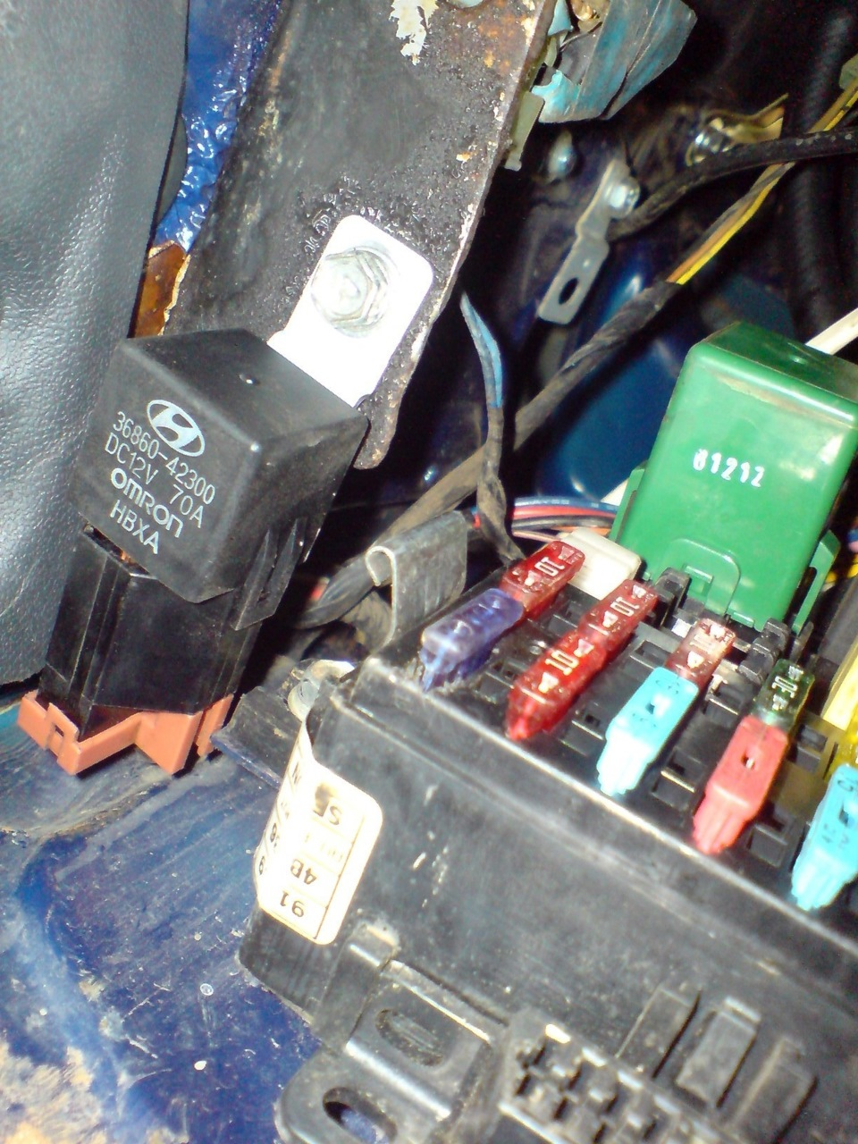 электрическая схема на хендай портер