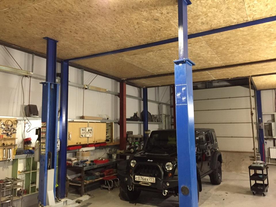 Установка подъемника в гараже своими руками 21