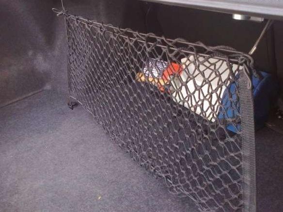 Сетка в багажник своими руками фото