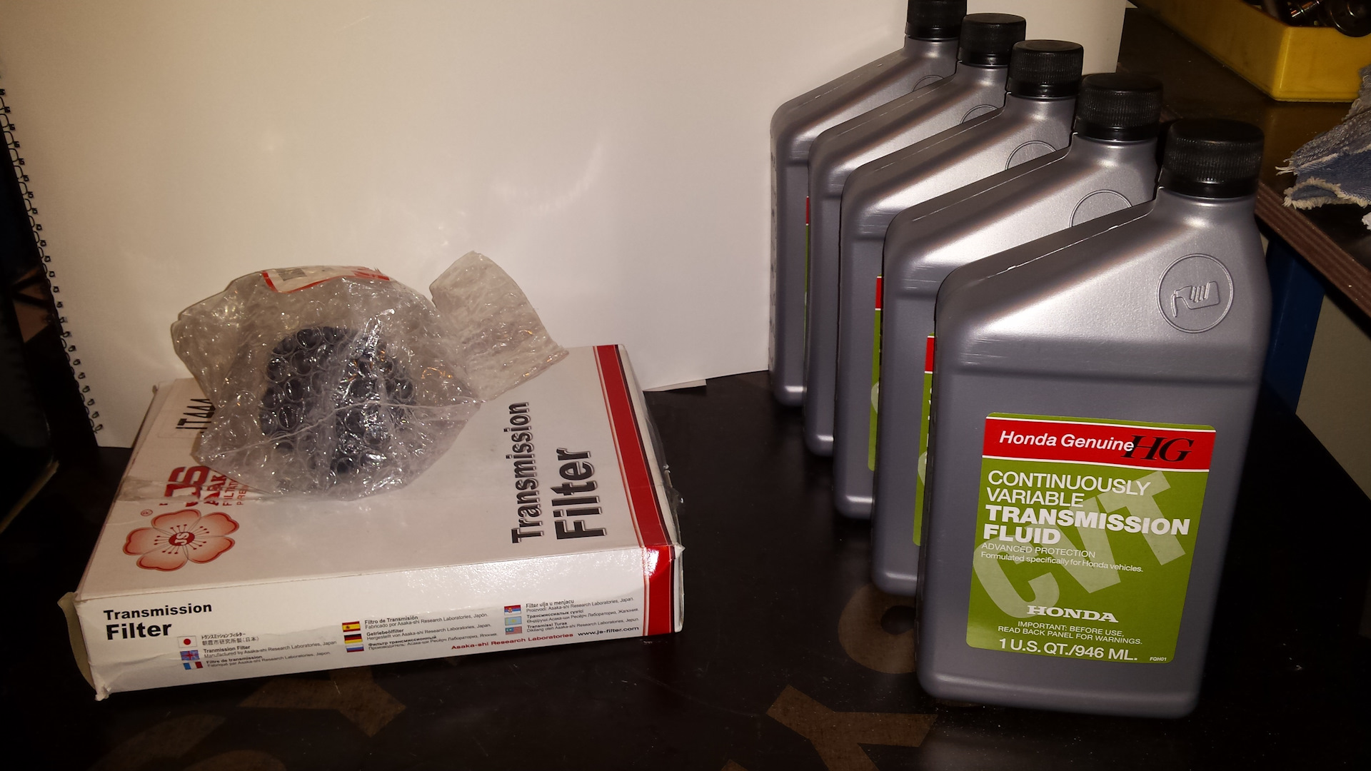 honda civic hybrid 2008 масло в коробку