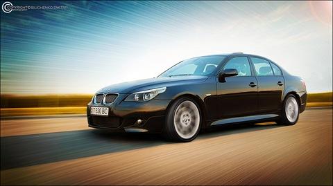 Фото обработка для Arnold (BMW 5 series 530d M-пакет.