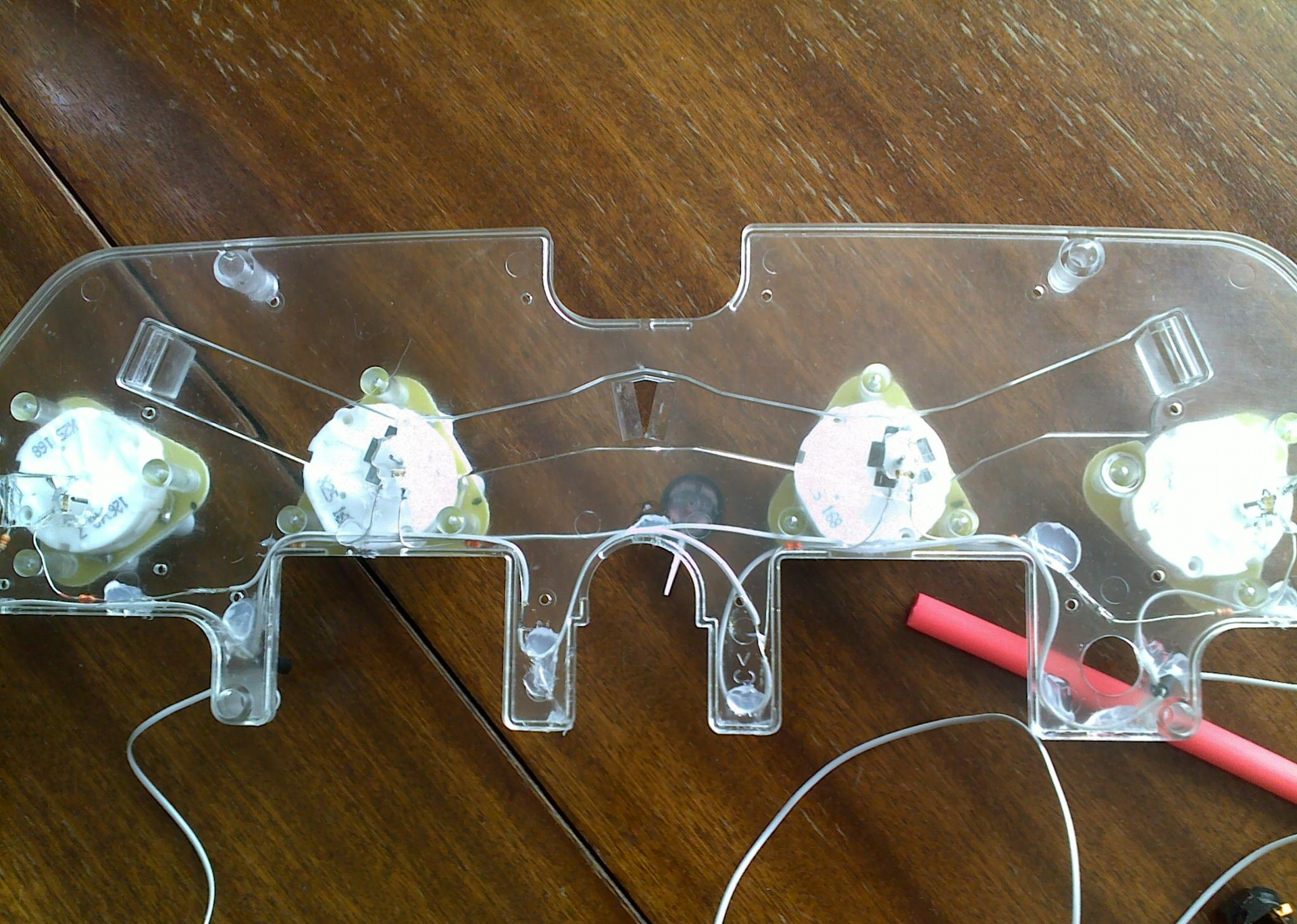 тюнинг приборной панели светодиодами схема