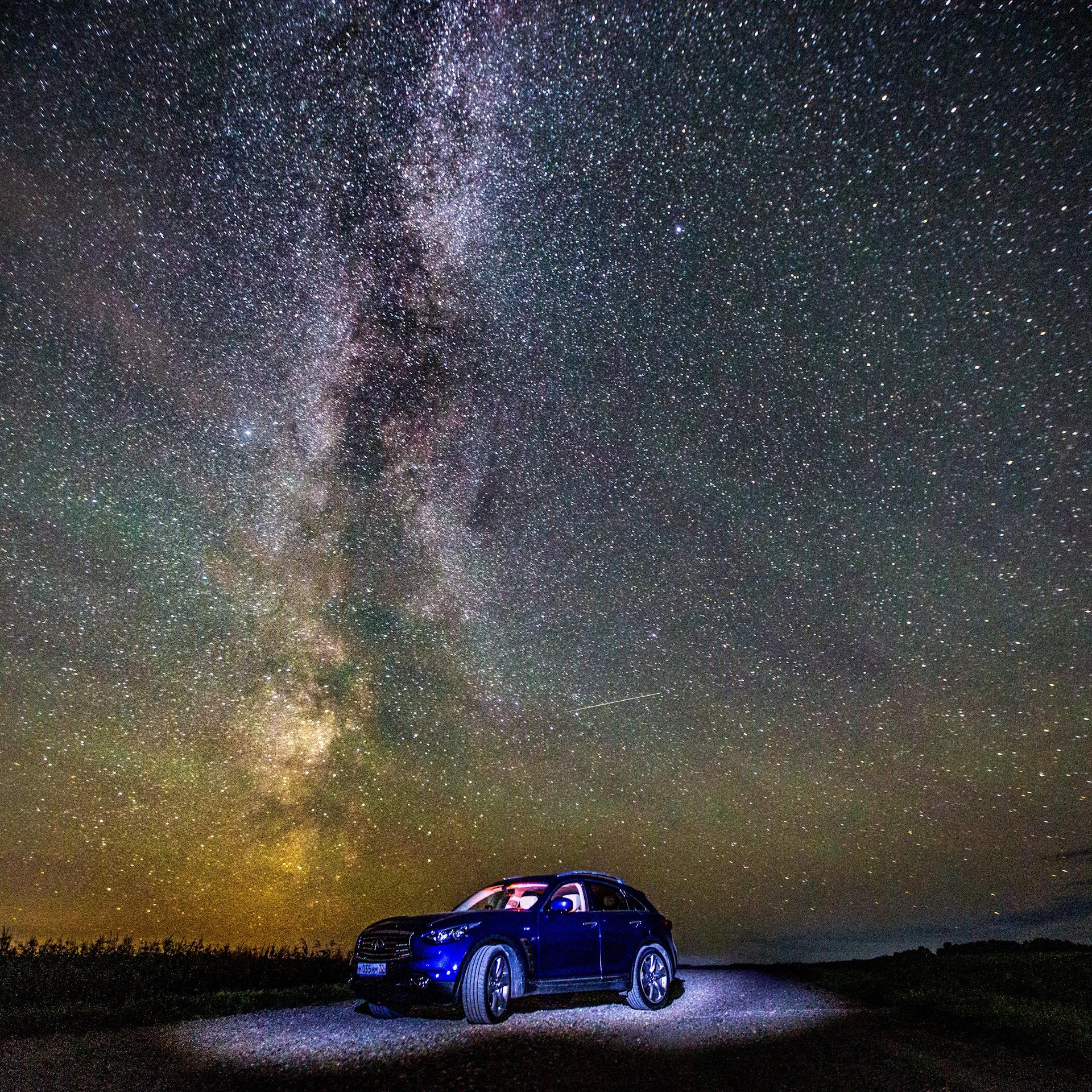 тот как сфотографировать млечный путь с земли этот
