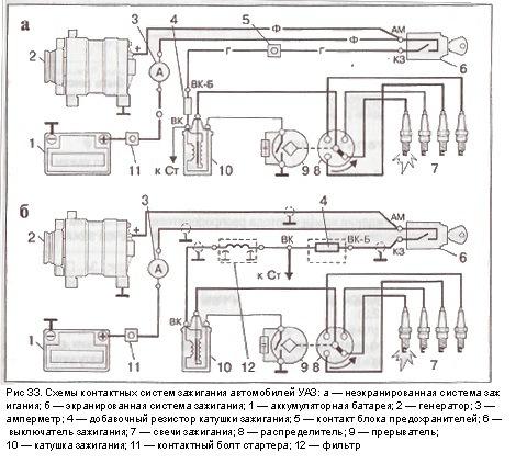 Катушка зажигания б115в схема подключения фото 127