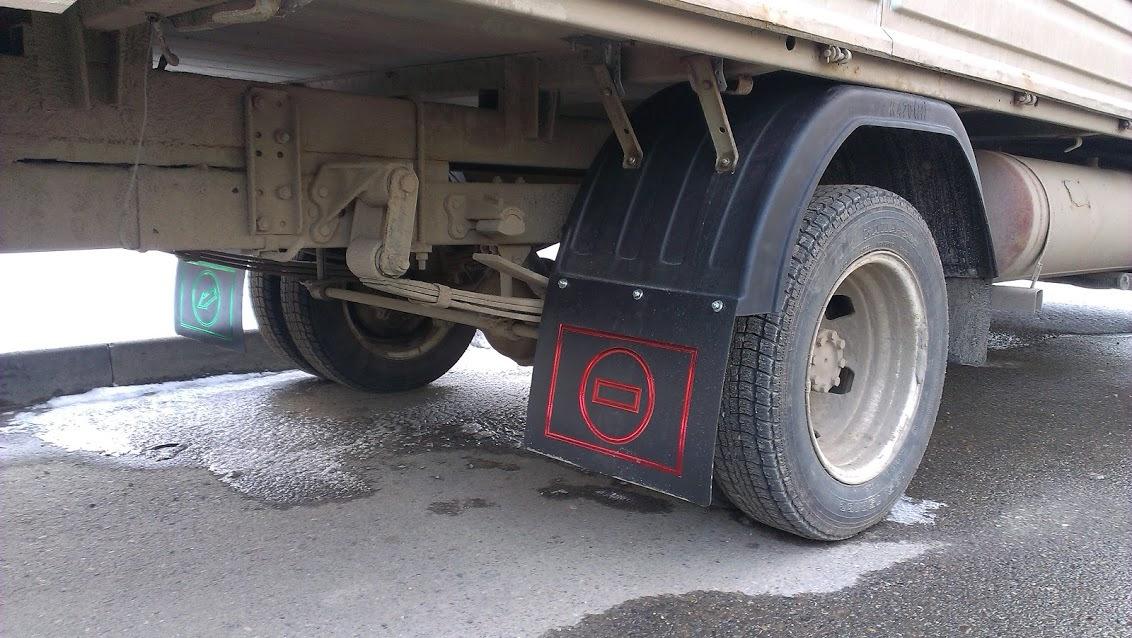 брызковики на грузовые тягачи