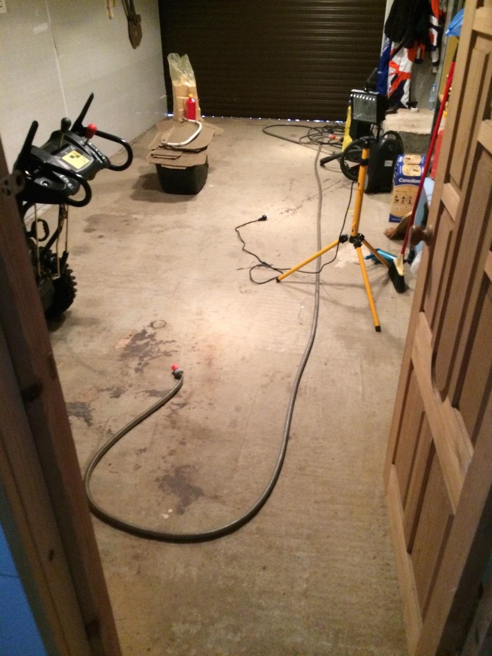 Наливной пол в гараже пошаговая инструкция