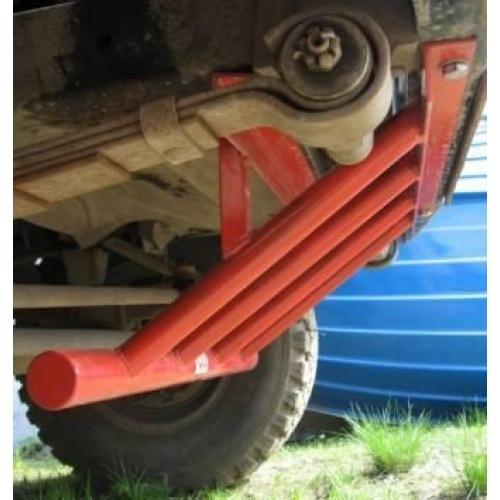 Сделать защиту рулевых тяг на уаз своими