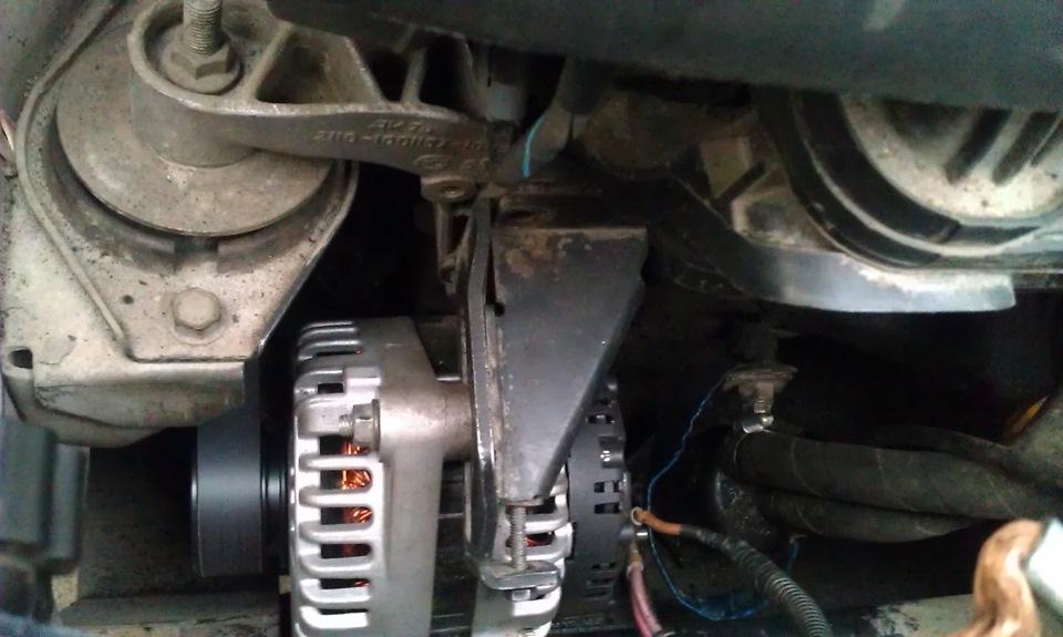 Фото №11 - замена генератора ВАЗ 2110