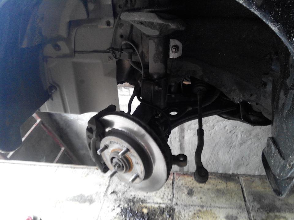 ремонт ходовой chevrolet lacetti