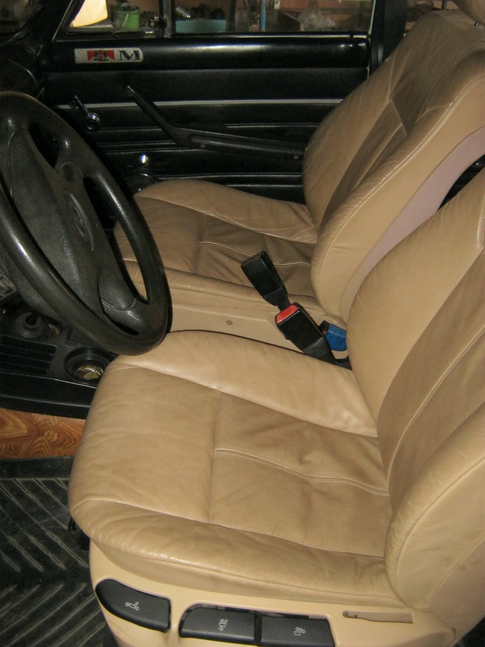 сиденья от bmw в ваз 2107