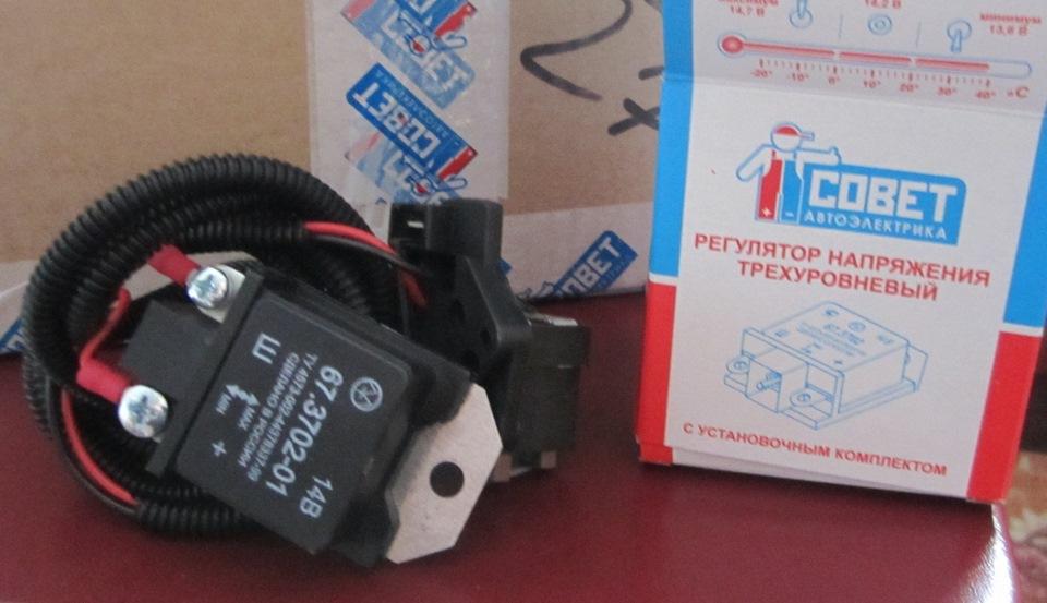 Фото №4 - трехуровневый регулятор напряжения ВАЗ 2110 своими руками