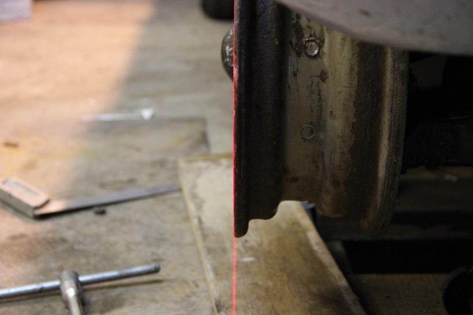 Схождение колес ваз 2106 с нитью