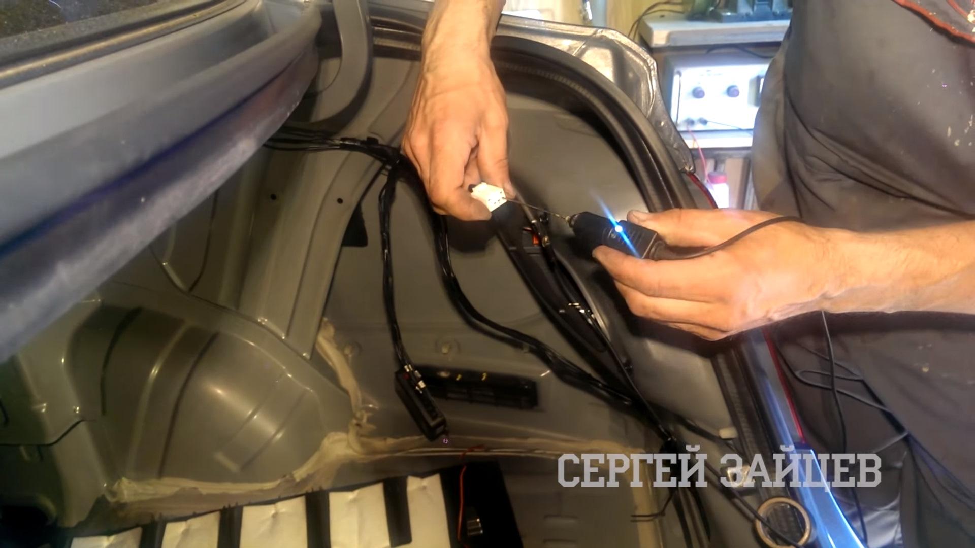 Датчик парктроника - Ремонт авто своими руками с 59