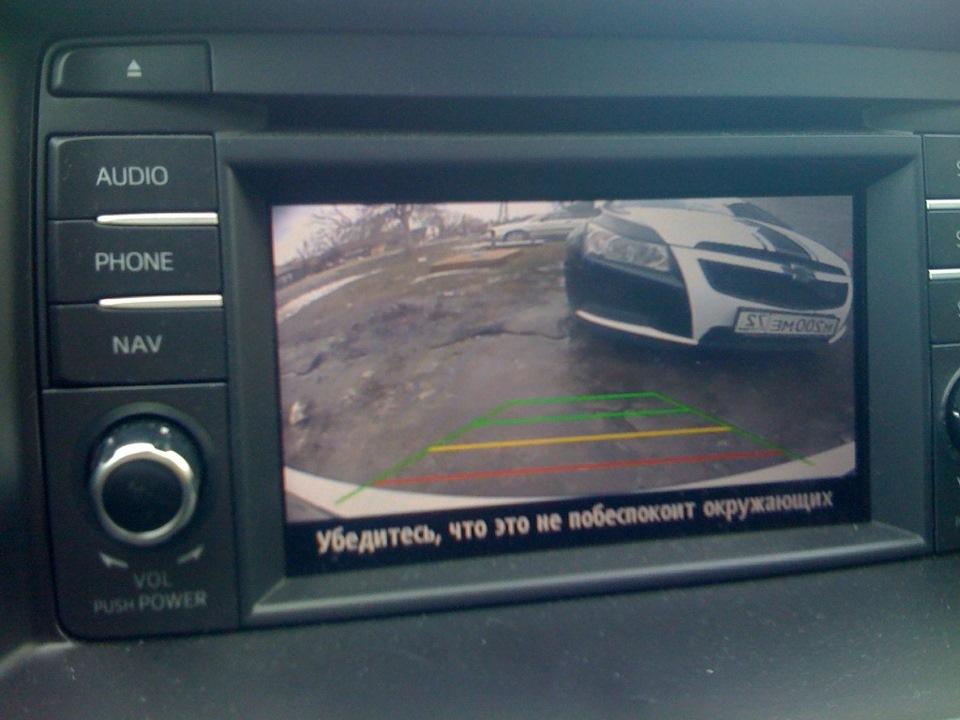 установка камеры заднего вида на штатную голову Mazda 6 Active или CX5 Touring - бортжурнал Mazda 6 3rd Машка 2012 года на DRIVE