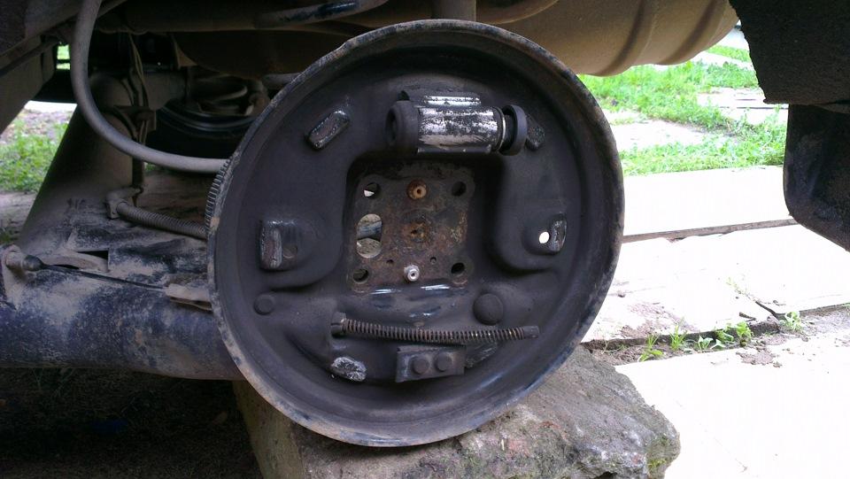 Задние тормозные колодки барабаны на форд фьюжен фото 161-202