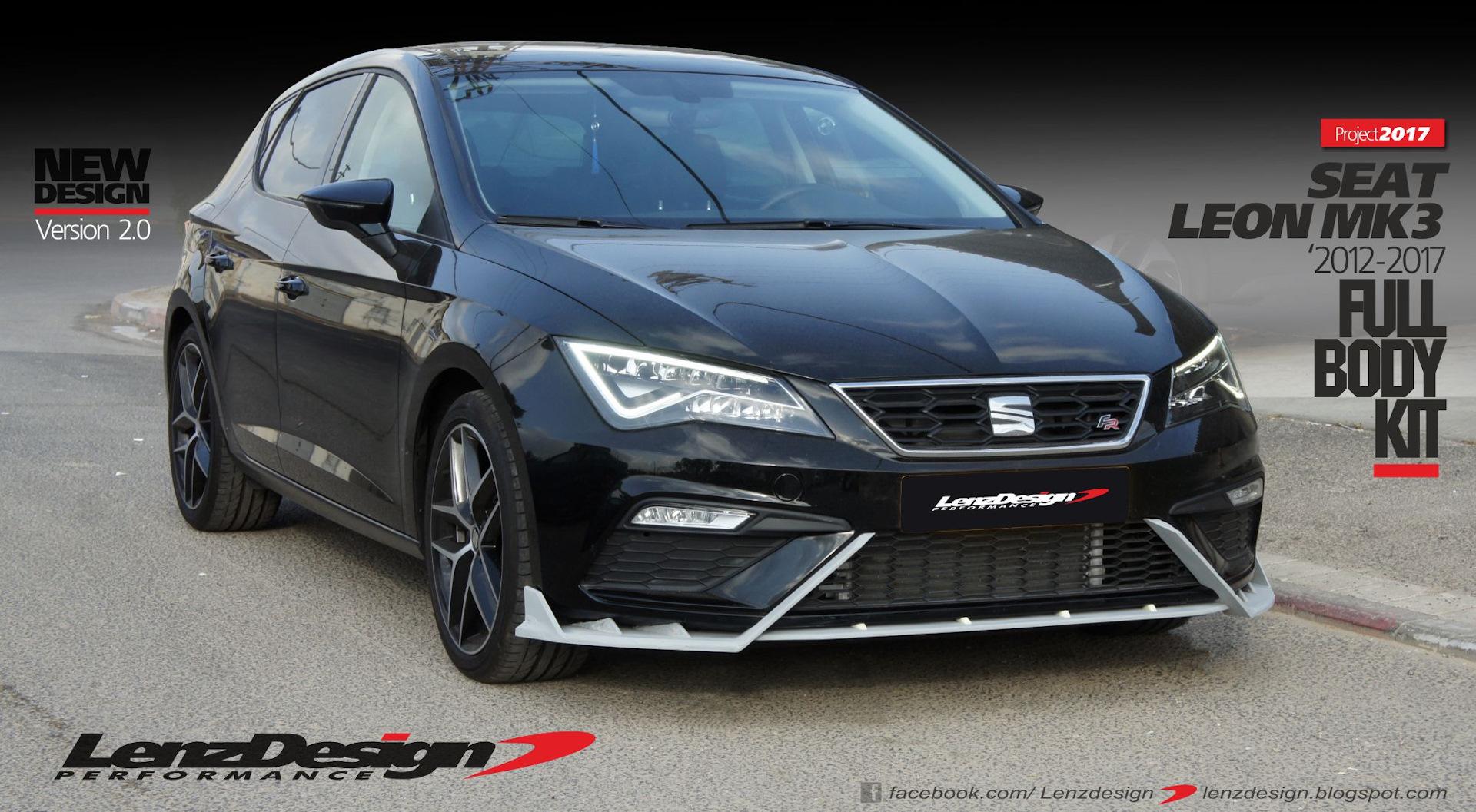 Seat Leon Mk3 5F Tuning & Body Kit Lenzdesign Performance ...