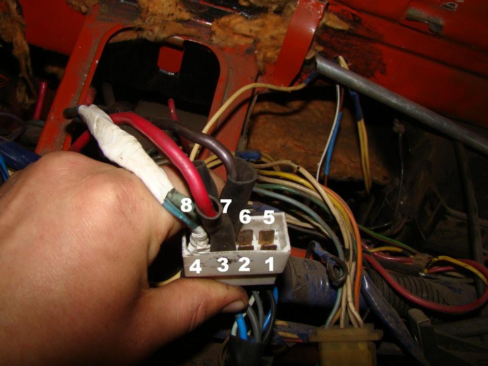 2) подключение переключателя