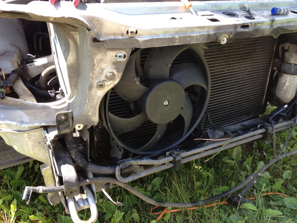 вентилятор на опель омега б 1998