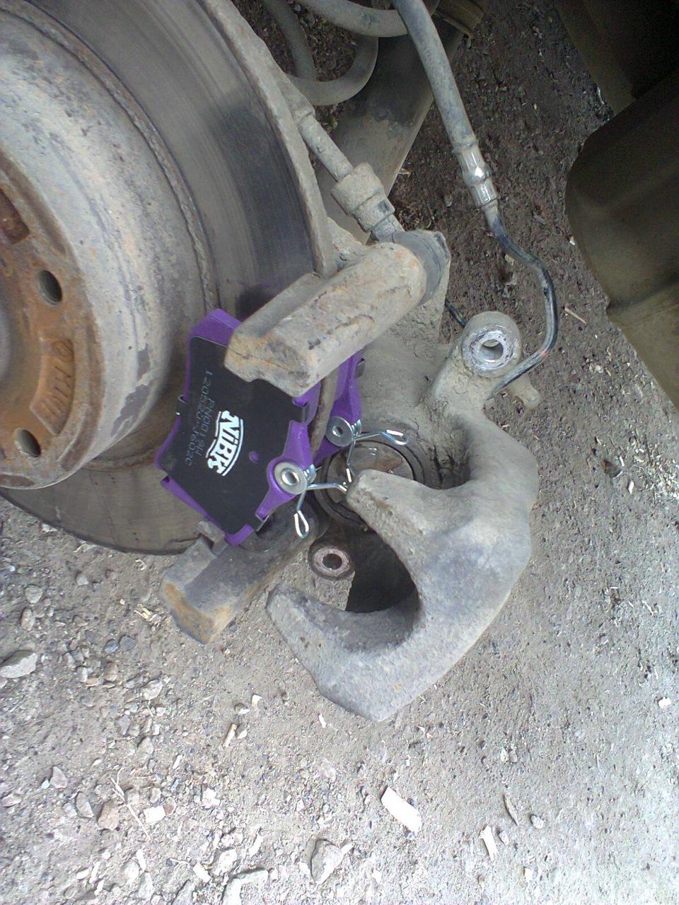 Не крутится левое передние колесо тюнинг ваз 2112