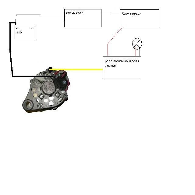 bf11dd4s 960 - Схема зарядки ваз 2106 с выносным реле