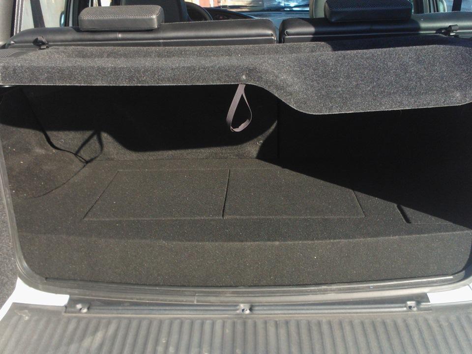 Шеви нива багажник своими руками