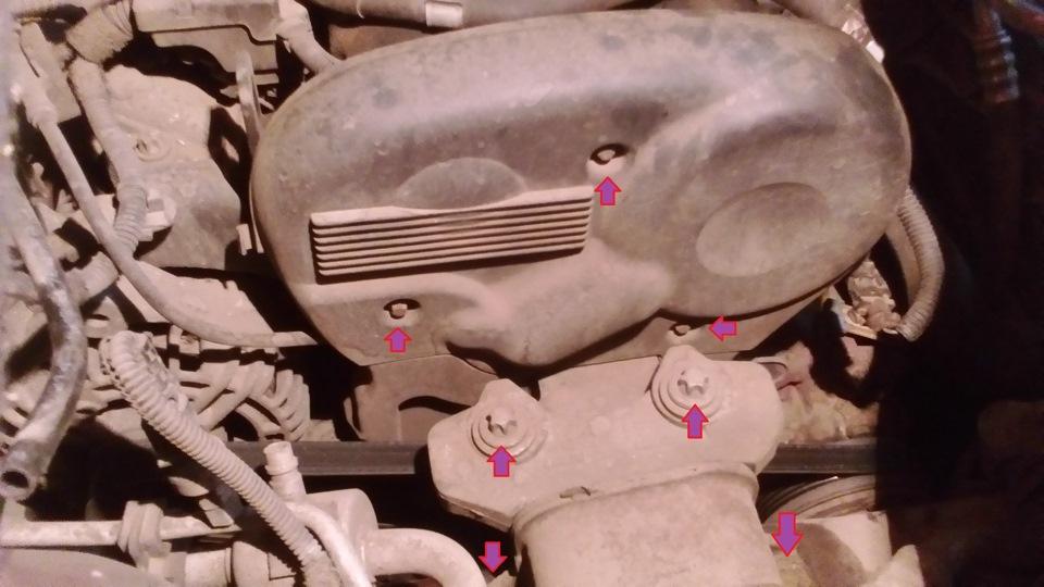 Замена масла в двигателе опель мерива своими руками 85