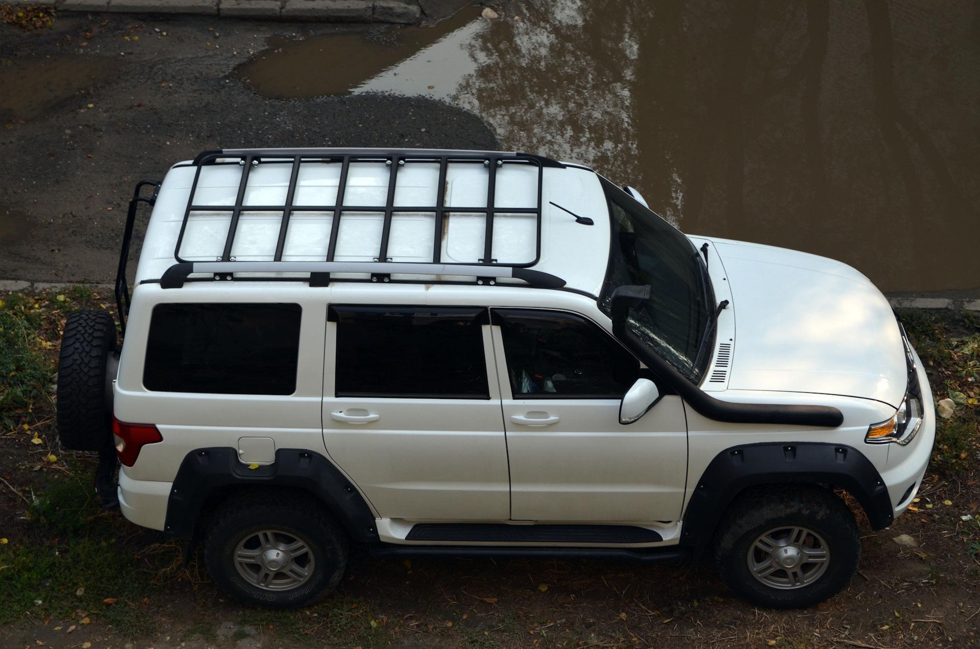 Экспедиционный багажник уаз патриот своими руками фото 528