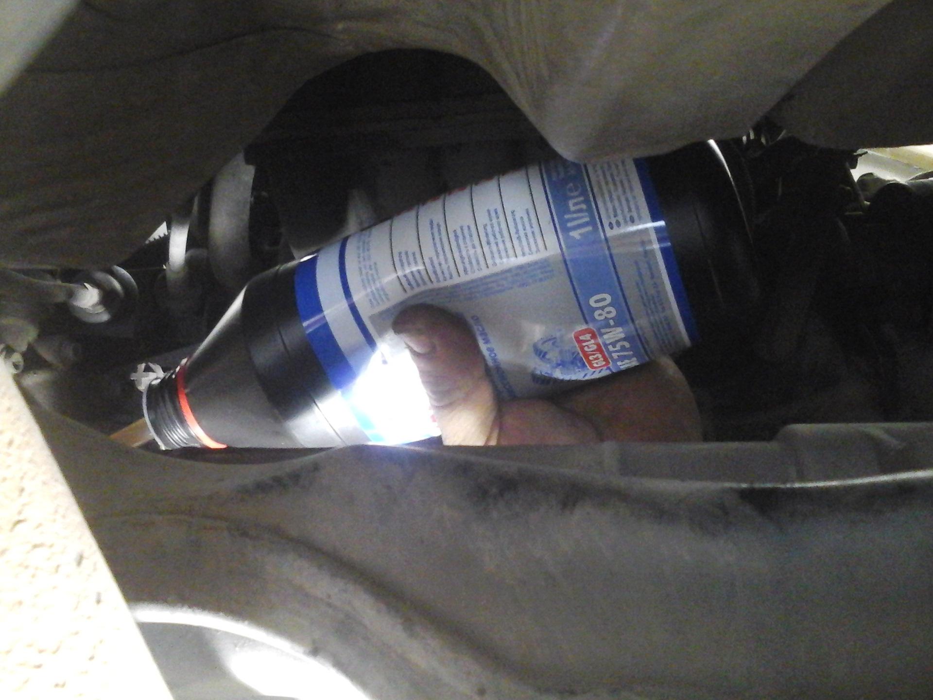 Замена масла в автоматической коробке передач 26