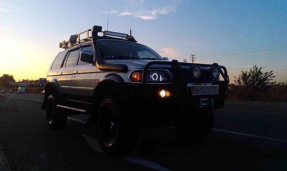 Задний силовой бампер для л200 189