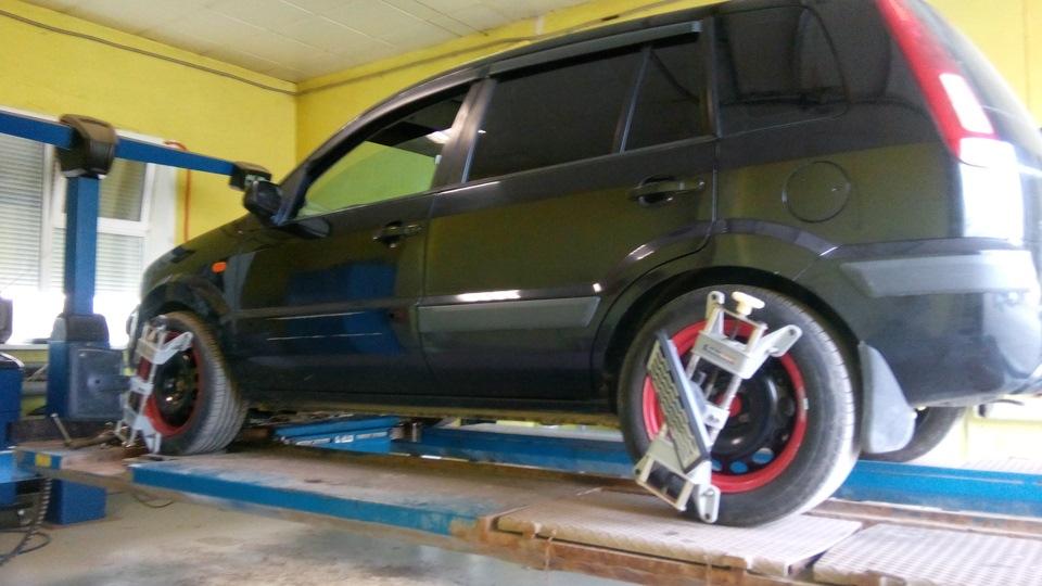 Схождение колес форд фокус 2