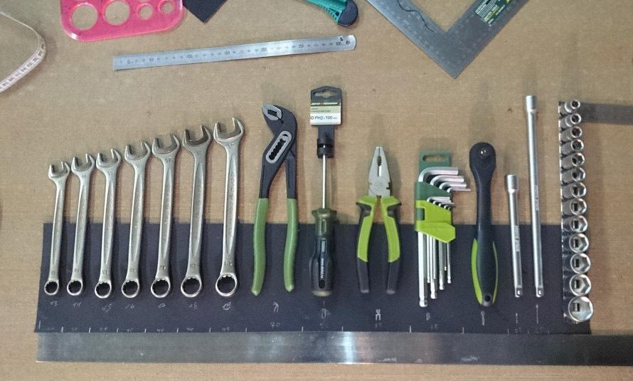 Комплект инструментов своими руками 23